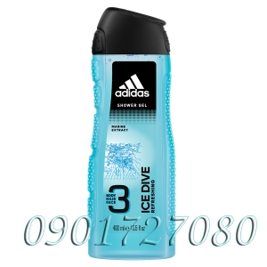 Sữa tắm, gội Adidas ice dive ( 3in1 )
