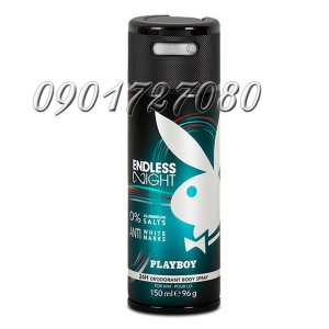 Xịt khử mùi PlayBoy Endless Night